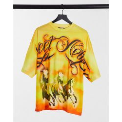T-shirt à imprimé cheval - ombré - Jaded London - Modalova