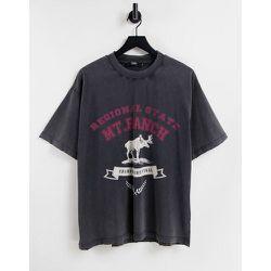 T-shirt oversize à imprimé élan - Jaded London - Modalova