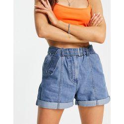 Athena - Short en jean avec ceinture et coutures apparentes - JDY - Modalova