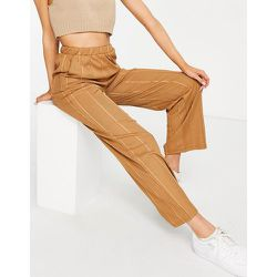 Bina - Pantalon confort ample d'ensemble - Noix de coco toastée - JDY - Modalova