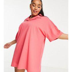 Lola May Plus - Robe chemise courte style polo - Lola May Curve - Modalova