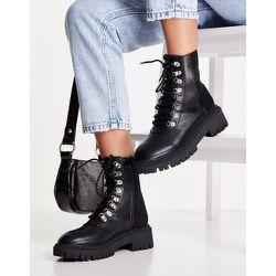 Bottines chunky style chaussures de randonnée - London Rebel - Modalova