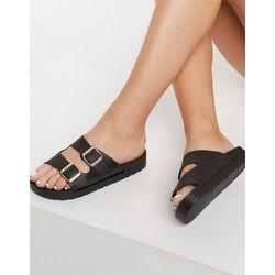 Sandales confortables à double boucle - London Rebel - Modalova