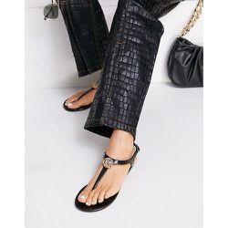 Sandales plates souples à entre-doigt - London Rebel - Modalova