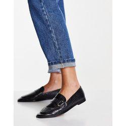 Chaussures plates avec boucle - croco - Mango - Modalova
