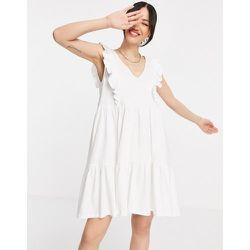 Robe d'été à volants en coton biologique - Mango - Modalova