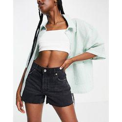 Short en jean à bords bruts - Mango - Modalova