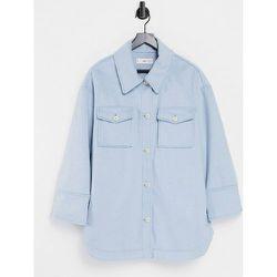 Veste chemise en polyester recyclé - clair - Mango - Modalova