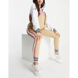 Survêtement habillé de qualité supérieure - Taupe et rose - NaaNaa - Modalova