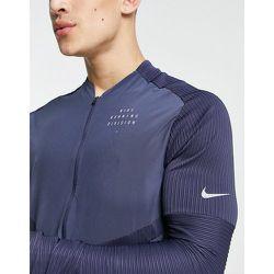 Run Division Statement Element - Sweat-shirt entièrement zippé - Bleu foncé - Nike Running - Modalova