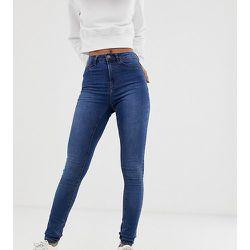 Callie - Jean skinny taille haute - Délavé bleu moyen - Noisy May Tall - Modalova