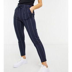 Pantalon à fines rayures - Bleu marine - Only Petite - Modalova