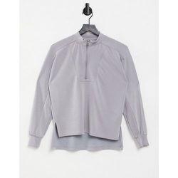 Premium - Sweat-shirt d'ensemble en modal zippé - Pieces - Modalova