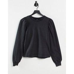 Sweat-shirt d'ensemble à manches volumineuses - délavé - Pieces - Modalova