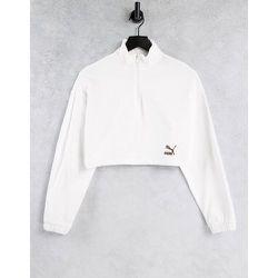 Sweat-shirt ras de cou zippé - Puma - Modalova