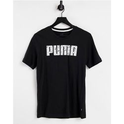 Puma - T-shirt à motif - Noir - Puma - Modalova