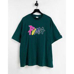T-shirt de skate coupe carrée - et multicolore - Puma - Modalova