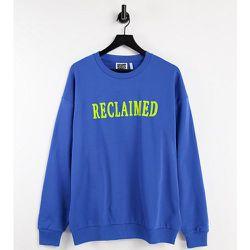 Inspired - Sweat-shirt unisexe avec logo floqué contrastant (pièce d'ensemble) - Reclaimed Vintage - Modalova