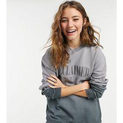 Inspired - Sweat-shirt unisexe deux tons avec imprimé sur le devant - Reclaimed Vintage - Modalova