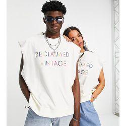 Inspired - Sweat-shirt unisexe sans manches avec logo arc-en-ciel - Reclaimed Vintage - Modalova