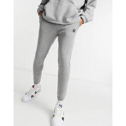Pantalon à carreaux en jacquard - SikSilk - Modalova