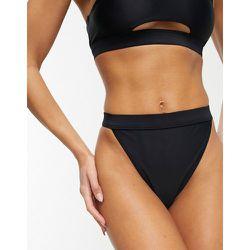 Mix and Match - Bas de bikini échancré taille haute en tissu recyclé - South Beach - Modalova