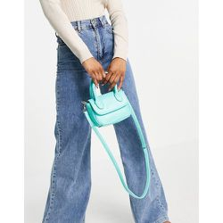 Mini sac à bandoulière avec poignée supérieure - aigue-marine - SVNX - Modalova