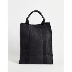 SVNX - Tote bag en paille-Noir - SVNX - Modalova
