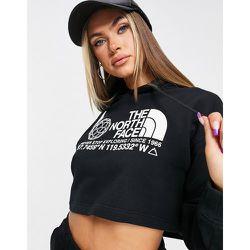 Hoodie court à logo - The North Face - Modalova