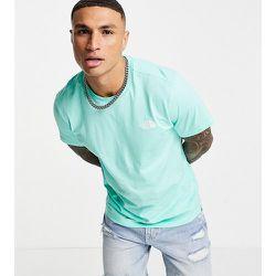 Simple Dome - T-shirt - /blanc - Exclusivité ASOS - The North Face - Modalova