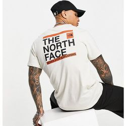Slice - T-shirt - Crème - Exclusivité ASOS - The North Face - Modalova