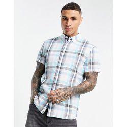 Chemise manches courtes à carreaux madras - Timberland - Modalova