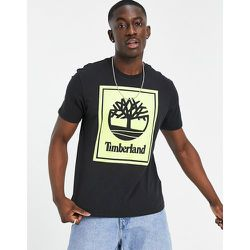 T-shirt à logo effet superposé - /vert - Timberland - Modalova