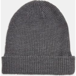 Bonnet gaufré style docker - Anthracite - Topman - Modalova