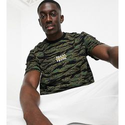 Exclusivité ASOS - T-shirt oversize - Camouflage - Topman - Modalova