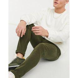 Jean stretch skinny en coton mélangé biologique - Kaki - Topman - Modalova