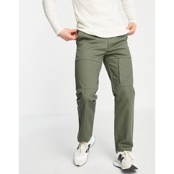 Topman - Pantalon droit - Kaki-Vert - Topman - Modalova