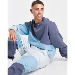Sweat-shirt d'ensemble effet color block - Topman - Modalova