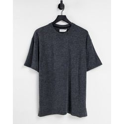 T-shirt oversize en maille - Topman - Modalova