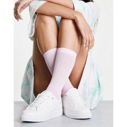Topshop - Baskets à lacets - Blanc - Topshop - Modalova