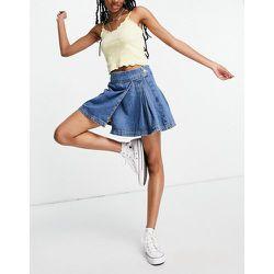 Jupe en jean style tennis - moyen - Topshop - Modalova
