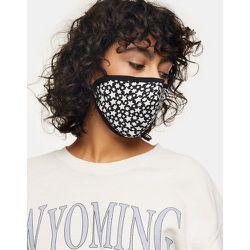 Masque en tissu tendance à imprimé étoile - et blanc - Topshop - Modalova