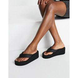 Sandales à semelle plateforme et entredoigt style années 90 - Truffle Collection - Modalova