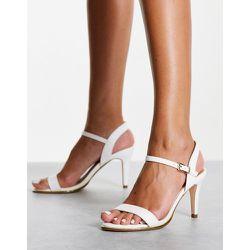 Sandales minimalistes à talon mi-haut - Truffle Collection - Modalova