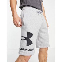 Rival - Short en polaire avec grand logo - Under Armour - Modalova