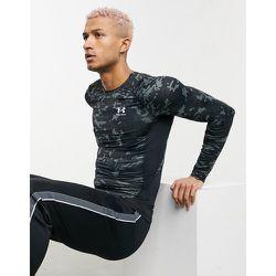 Training HeatGear - T-shirt de sous-vêtement à manches longues - Camouflage - Under Armour - Modalova