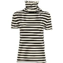 Pull Col Roule - A Rayures - Twinset - Modalova