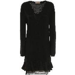 Robe Courte - Noir - Twinset - Modalova