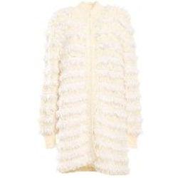 Manteau Long - Blanc - Twinset - Modalova