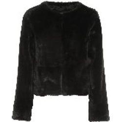 Manteau En Fourrure - Noir - Twinset - Modalova
